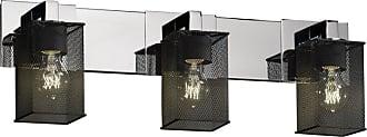 Justice Design Mesh Modular 8923-15 Vanity Light - MSH-8923-15-NCKL