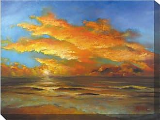 West of the Wind Tasman Sunset Canvas Outdoor Art - OU-71122