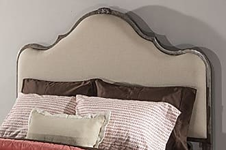 Hillsdale Furniture 2140-670 Hillsdale Delray, King, Frame Not Included, Linen Stone Headboard