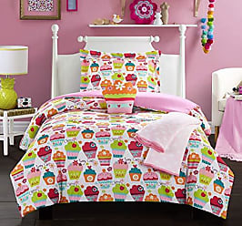 Chic Home Tasty Muffin 4 Piece Comforter Set Sweet Dreams Theme Pattern Print Youth Design Bedding - Throw Blanket Decorative Pillow Sham Included Twin