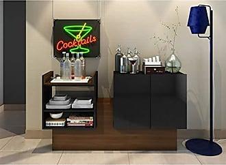 Estilare Aparador Buffet Bar BR50 Deco - Preto