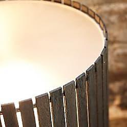 Zaneen Luz Oculta Wood Floor Lamp