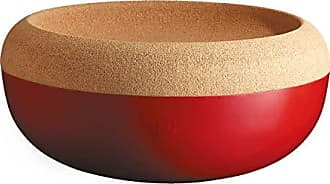 14 x 14 x 16 cm Ceramica Emile Henry Argilla Porta-Utensili cilindrico