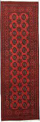 Nain Trading Oriental Rug Afghan Akhche 710x26 Runner Dark Brown/Rust (Wool, Afghanistan, Hand-Knotted)