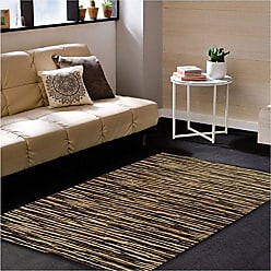 Superior Horizons Collection Area Rug, Attractive Rug with Jute Backing, Durable and Beautiful Woven Structure, Abstract Striped Rug - 5 x 8