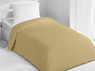 Beige Soleil docre taupe 220 x 240 cm 90-XB2700 SL00090 incl Set di biancheria da letto copripiumino e 2 federe in cotone