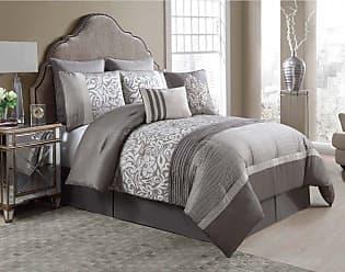 VCNY Arcadia 8 Piece Comforter Set, Size: Queen,King - ACD-8CS-KING-IN-TV