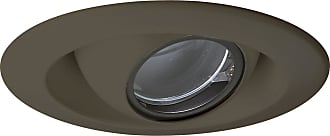 PROGRESS P8057-20 Pinhole Trim in Antique Bronze finish with clear glass