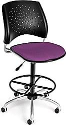 OFM 326-DK-2214 Stars Swivel Stool with Fabric Seat