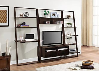 4D Concepts Arlington Entertainment Center with Bookcase and Desk - 89807