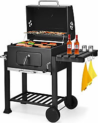 Overstock Costway Charcoal Grill Barbecue BBQ Grill Outdoor Patio Backyard Cooking Wheels Portable