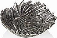 Zodax Multi Palm Leaf Design Long Decorative Bowl (Set of 2), 6.5, 2 Piece
