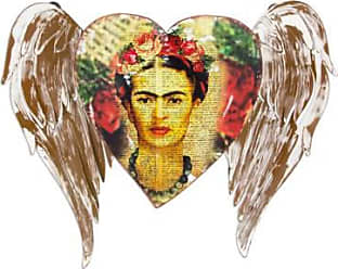 Novica Iron wall sculpture, Fridas Heart Takes Wing