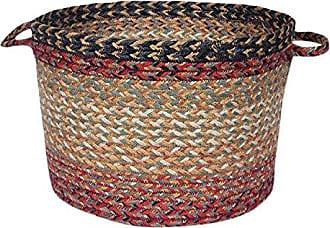 Earth Rugs 38-UBMD9313 Basket, Maroon