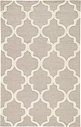 Jaipur Living Miami Hand-Tufted Trellis Gray/Silver Area Rug (2 X 3)