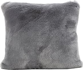 GDF Studio Christopher Knight Home Ellison Sterling Decorative Faux Fur Fabric Throw Pillow (Set of 2) | Ideal for The Living Room or Bedroom | Plush Texture