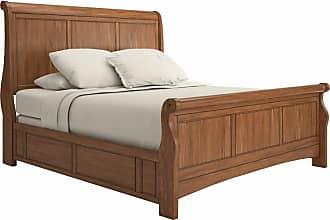 Weston Home Crestler Sleigh Bed, Size: Queen,King - 68395BQSL-1AK[BED]