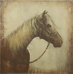StyleCraft Monotone Horse Wall Art - WI32823DS
