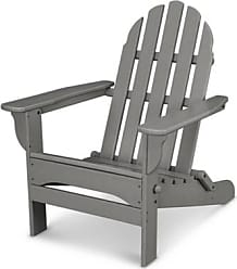 Ashley Furniture POLYWOOD Emerson All Weather Adirondack Chair, Slate