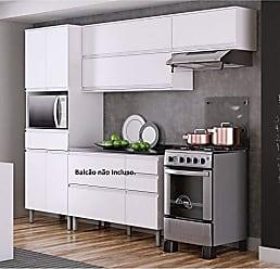 Itatiaia Cozinha Compacta Itatiaia Belíssima Plus 3 Peças 7 Portas Branco