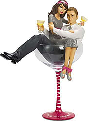 Pavilion Gift Company H2Z tableware 73740 Happy Engagement Couple Champagne Glass, 10 1/2-Inch