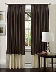 Lush Décor 54-Inch by 84-Inch Flourish Panel, Brown