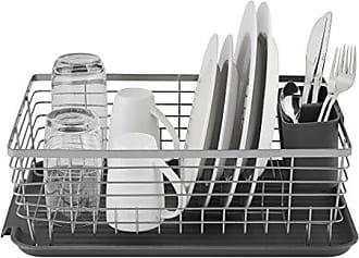 MasterClass 41 x 22 x 13 cm Edelstahl KitchenCraft MCDISHCOMP kleines Abtropfgestell