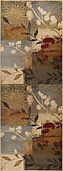 Tayse Emilie Transitional Floral Multi-Color Runner Rug, 2.7 x 7