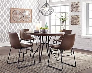 Ashley Furniture Centiar Dining Room Table, Two-tone Brown