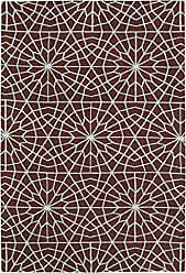 Kaleen Rugs Cozy Toes Collection CTC11-04 Burgundy Machine Tufted Rug, 8 x 10
