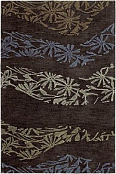 Kaleen 6401-40-23 Inspire Collection Handmade Area Rug, 2 x 3, Chocolate