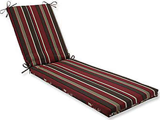 Pillow Perfect Outdoor/Indoor Monserrat / Montifleuri Sangria Red Chaise Lounge Cushion 80x23x3