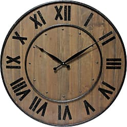 Infinity Instruments Wine Barrel 24 in. Wall Clock - 14575WL
