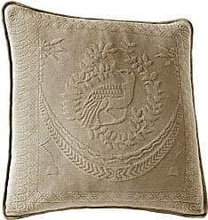 Ellery Homestyles Historic Charleston 13995020X020BIR King Charles Matelasse 20-Inch by 20-Inch Decorative Pillow, Birch