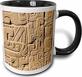 3D Rose 187706_4 Ceramic Mug 11 oz Black/White