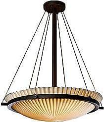 Justice Design Group Porcelina Bowl Suspension