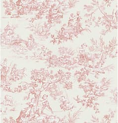 Brewster Home Fashions Lovely Toile Wallpaper - 149-45701