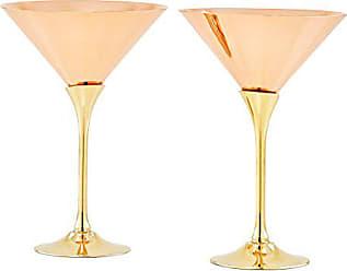 Old Dutch International 1503 Martini Glasses, 9 Oz, Copper