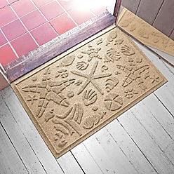 Bungalow Flooring AquaShield Beachcomber Doormat, 2 x 3, Camel