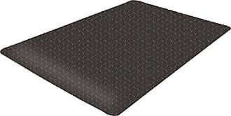 Guardian Floor Protection Safe Step Anti-Fatigue Floor Mat Black/Yellow, Size: 3 x 12 ft. - 24031203