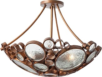 Varaluz Recycled Fascination Ceiling Light - Hammered Ore