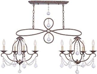 Olde Bronze Livex Lighting 5724-67 Oldwick 1-Light Pendant
