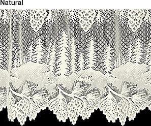 Heritage Lace 16H x 60L Pinecone Lace Valance