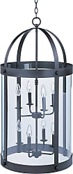 Maxim Lighting 21556CLBZ 8-light Tara-Entry Foyer Pendant fixture in Bronze with Clear shade(s)