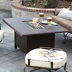 Woodard Hammered 60 in. Fire Table - WD2933-10