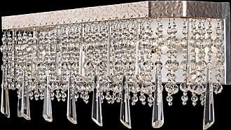 Varaluz Barcelona 21 3-Light Bath Vanity in Transcend Silver