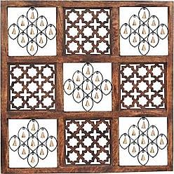 Essential D/écor /& Beyond EN111664 Wooden Wall Decor