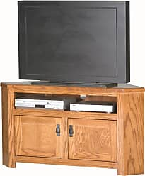 Eagle Furniture Mission 50 in. Corner Entertainment Center - 88738WPLT