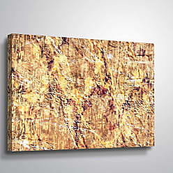 Brushstone Pale by Scott Medwetz Gallery Wrapped Canvas, Size: 36x54 - 0MED870C3654W