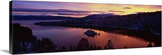 Great Big Canvas Emerald Bay Lake Tahoe CA Canvas Wall Art Print - 75249_24_36X12_NONE